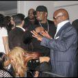 P. Diddy à la soirée Blackberry/Timbaland organisée avant les Grammy