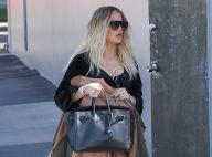 Khloé Kardashian enceinte : Toujours pas prête à officialiser, elle se camoufle