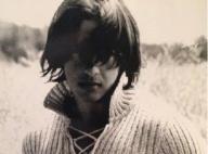 """Moundir jeune et méconnaissable avec """"une coupe à la Mireille Mathieu"""""""