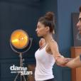 Tatiana Silva dans DALS8, le 14 octobre 2017 sur TF1.