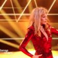 """Arielle Dombasle dans """"DALS8"""", le 14 octobre 2017 sur TF1."""