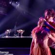 """""""Joy Esther dans """"DALS8"""" le 14 octobre 2017 sur TF1."""""""