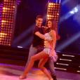 """Tatiana Silva dans """"DALS8"""", le 14 octobre 2017 sur TF1."""