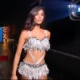 """""""Tatiana Silva dans """"DALS8"""", le 14 octobre 2017 sur TF1."""""""
