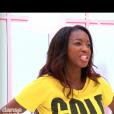 """Hapsatou Sy dans """"DALS8"""" le 14 octobre 2017 sur TF1."""