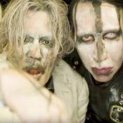 Johnny Depp, entre masturbation et orgies : Méconnaissable pour Marilyn Manson