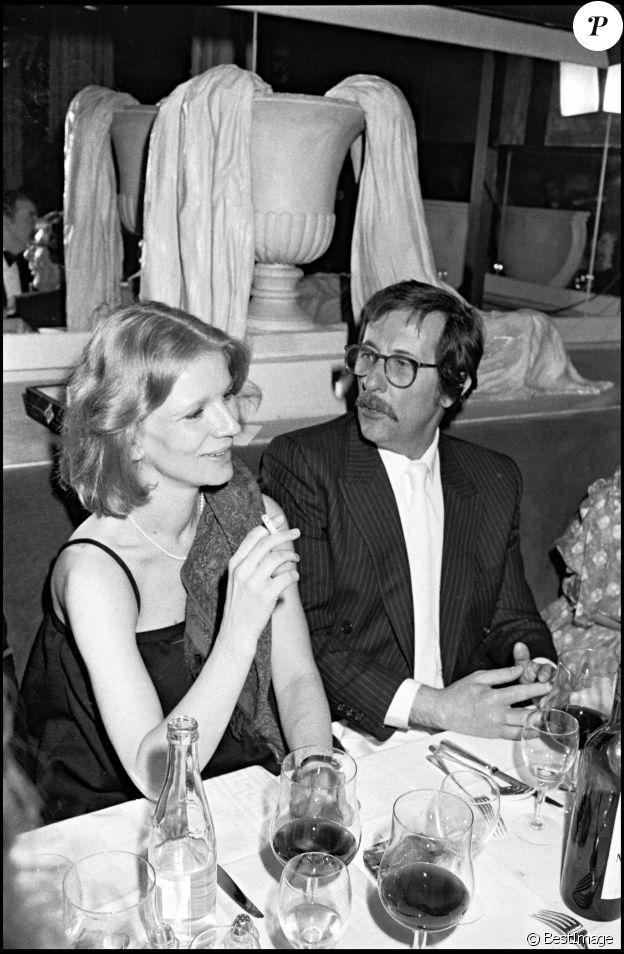 """Nicole Garcia et Jean Rochefort - Soirée """"Privilège"""" à Paris en 1981"""