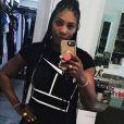 Serena Williams a perdu les kilos de sa grossesse, un mois après l'accouchement. Instagram, le 28 septemebre 2017.