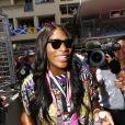 Serena Williams - 75ème Grand Prix F1 de Monaco le 28 mai 2017.