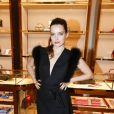 Roxane Mesquida - Soirée Ferragamo à la boutique Avenue Montaigne, lors de la fashion week à Paris, le 5 juillet 2016. © Olivier Borde/Bestimage