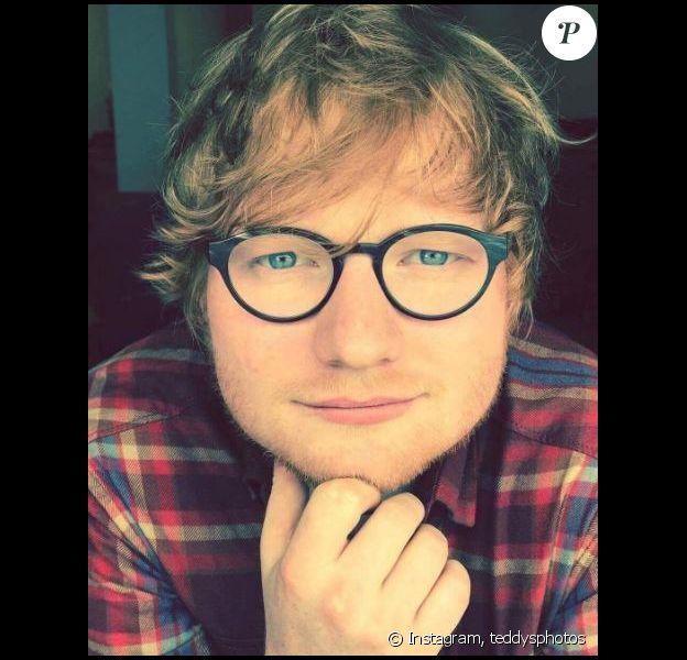 Ed Sheeran pose sur Instagram, octobre 2017.