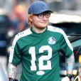 Exclusif - Ed Sheeran se promène à New York le 24 septembre 2017.