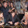 Maria Menounos, Ashton Kutcher et Demi Moore font une partie de dominos à L.A ! 20/02/09