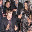 Demi Moore et Ashton Kutcher font une partie de dominos à L.A ! 20/02/09