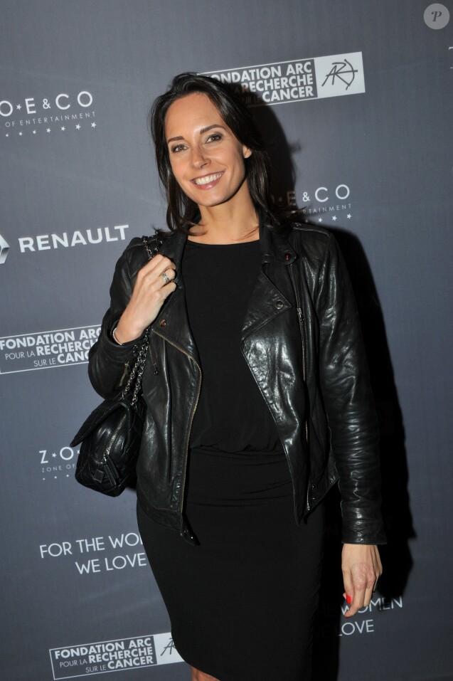Exclusif - Julia Vignali - Dîner de gala au profit de la Fondation ARC pour la recherche contre le cancer du sein à l'hôtel Peninsula à Paris le 1er octobre 2015.