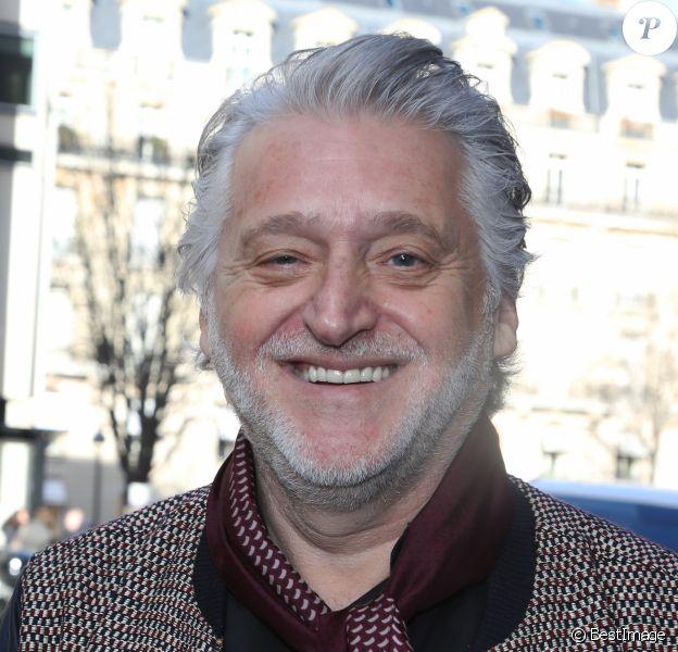 Exclusif - Gilbert Rozon à Paris le 3 février 2017.