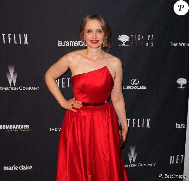 Julie Delpy - After-Party des Golden Globes organisés par The Weinstein Company à l'hotel Beverly Hilton a Beverly Hills, le 12 janvier 2014.