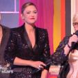 """Sandrine Quétier et Laurence Boccolini - """"Danse avec les stars 8"""" sur TF1. Le 28 octobre 2017."""