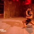 """Agustin Galiana et Candice Pascal - """"Danse avec les stars 8"""" sur TF1. Le 28 octobre 2017."""