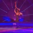"""Tatiana Silva et Christophe Licata - """"Danse avec les stars 8"""" sur TF1. Le 28 octobre 2017."""