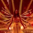 """Hapsatou Sy et Jordan Mouillerac - """"Danse avec les stars 8"""" sur TF1. Le 28 octobre 2017."""