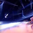 """Lenni-Kim et Marie Denisot - """"Danse avec les stars 8"""" sur TF1. Le 28 octobre 2017."""