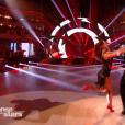 "Sinclair et Denitsa Ikonomova - Danse avec les stars 8"" sur TF1. Le 28 octobre 2017."