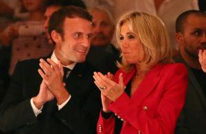 Brigitte et Emmanuel Macron : Sourires immenses pour un retour aux sources