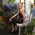 """Noémie Lenoir - Soirée de lancement de la collection """"Erdem x H&M"""" à l'hôtel du Duc à Paris, France, le 26 octobre 2017. © Denis Guignebourg/Bestimage"""