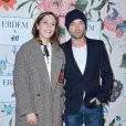 """Alysson Paradis et Guillaume Gouix - Soirée de lancement de la collection """"Erdem x H&M"""" à l'hôtel du Duc à Paris, France, le 26 octobre 2017."""