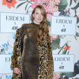"""Bianca O'Brien - Soirée de lancement de la collection """"Erdem x H&M"""" à l'hôtel du Duc à Paris, France, le 26 octobre 2017."""