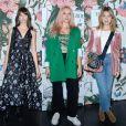 """Annabelle Belmondo, Chloé Jouannet et Victoria Monfort - Soirée de lancement de la collection """"Erdem x H&M"""" à l'hôtel du Duc à Paris, France, le 26 octobre 2017."""