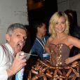 Priscilla Betti - Soirée inaugurale du 23ème Salon du Chocolat en faveur de l'association Mécénat Chirurgie Cardiaque à Paris. Le 27 octobre 2017 © Perusseau - Veeren / Bestimage