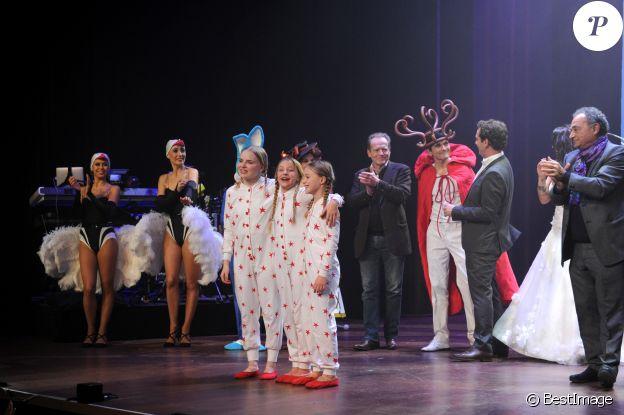 """Exclusif - Générale de la comédie musicale """"Emilie Jolie"""" au théâtre Comédia à Paris le 27 octobre 2017. © Patrick Carpentier / Bestimage"""