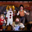 """""""Neil Patrick Harris, son mari David et leurs enfants Harper et Gideon déguisés pour Halloween 2017."""""""