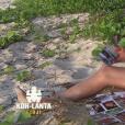 """Maxime en larmes à la lecture du courrier de sa famille dans """"Koh-Lanta Fidji"""" (TF1), vendredi 3 novembre 2017."""