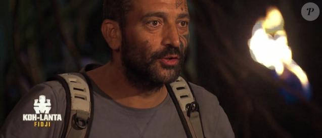 "Fabian a été éliminé de ""Koh-Lanta Fidji"" (TF1), vendredi 3 novembre 2017."