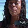 """""""Magalie dans """"Koh-Lanta Fidji"""" (TF1), vendredi 3 novembre 2017."""""""