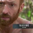 """Maxime dans """"Koh-Lanta Fidji"""" (TF1), vendredi 3 novembre 2017."""
