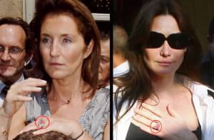 Sarkozy : il a offert à Carla Bruni...  la même bague que celle qu'il avait offerte à Cécilia