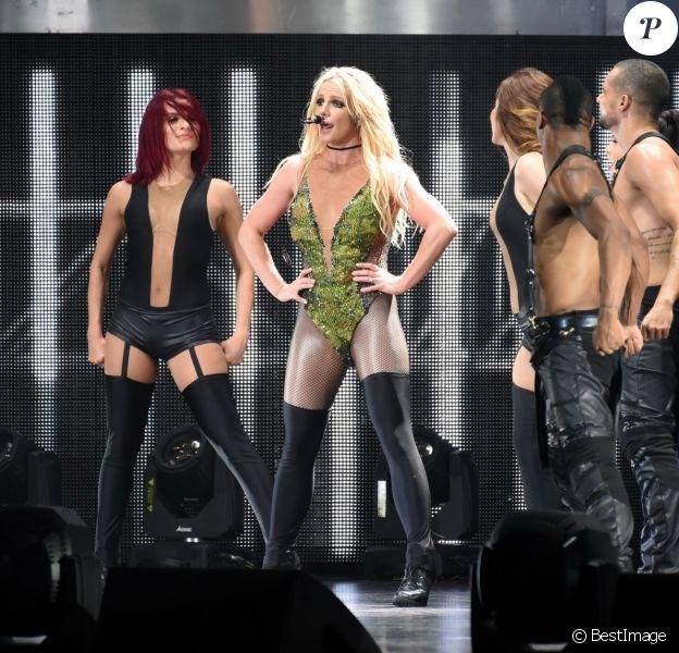 Britney Spears en concert à Taipei, Taïwan, Chine, le 13 juin 2017. © TPG/Zuma Press/Bestimage