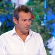 """Jean-Luc Reichmann dans """"Les 12 Coups de midi"""", le 15 août 2017."""