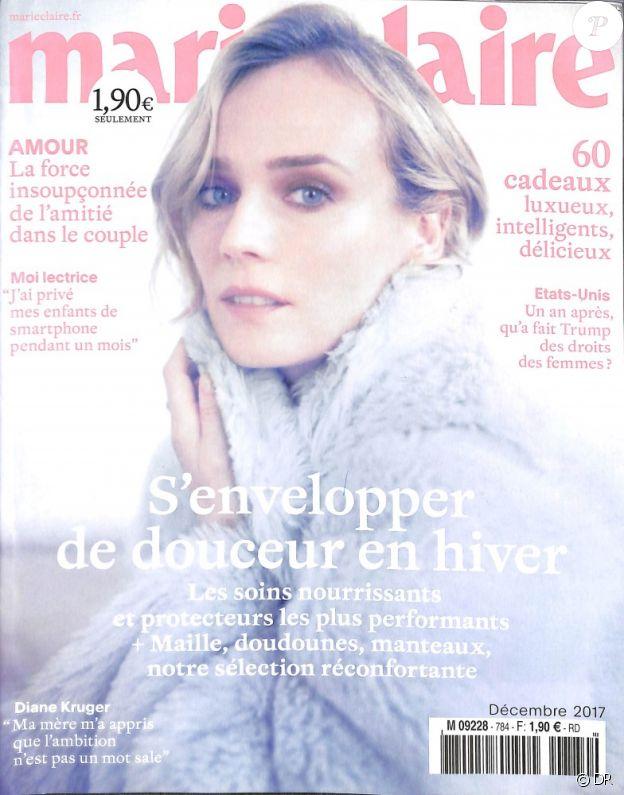 Le magazine Marie-Claire du mois de décembre 2017