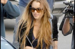 Lindsay Lohan persiste et signe... elle ne met plus de pantalon !