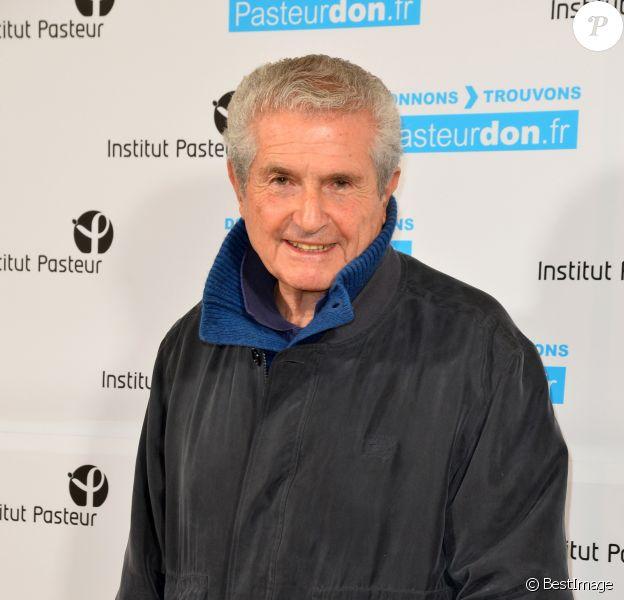 Claude Lelouch à la 11ème édition du Pasteurdon à l'institut Pasteur à Paris le 11 octobre 2017. © Coadic Guirec / Bestimage