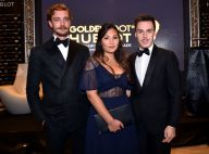 Pierre Casiraghi, Louis Ducruet et sa chérie Marie, très chic pour Iker Casillas