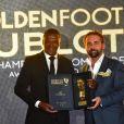 Marcel Desailly lors de la 15e édition du Golden Foot Hublot Award, remis à Iker Casillas le 7 novembre 2017 à l'hôtel Mériden à Monaco. © Bruno Bebert/Bestimage