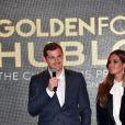 Iker Casillas a reçu le Golden Foot Award 2017 en présence de sa femme Sara Carbonero le 7 novembre 2017 à l'hôtel Méridien à Monaco. © Bruno Bebert/Bestimage