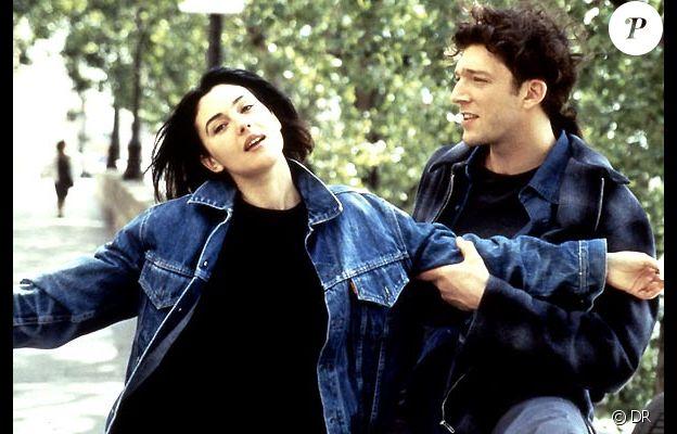 Monica Bellucci et Vincent Cassel dans L'Appartement en 1996