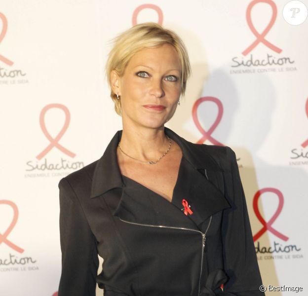 Rebecca Hampton - Lancement de l'édition sidaction 2012.